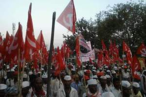 kisan long march aiks
