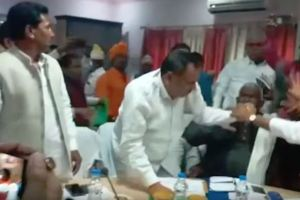 BJP MLA MP Sant Kabir Nagar Fight
