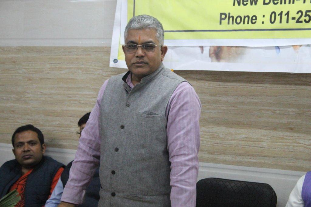 Dilip Ghosh BJP Bengal Twitter