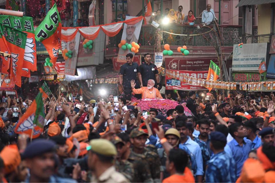 Narendra Modi Varanasi Rally FB