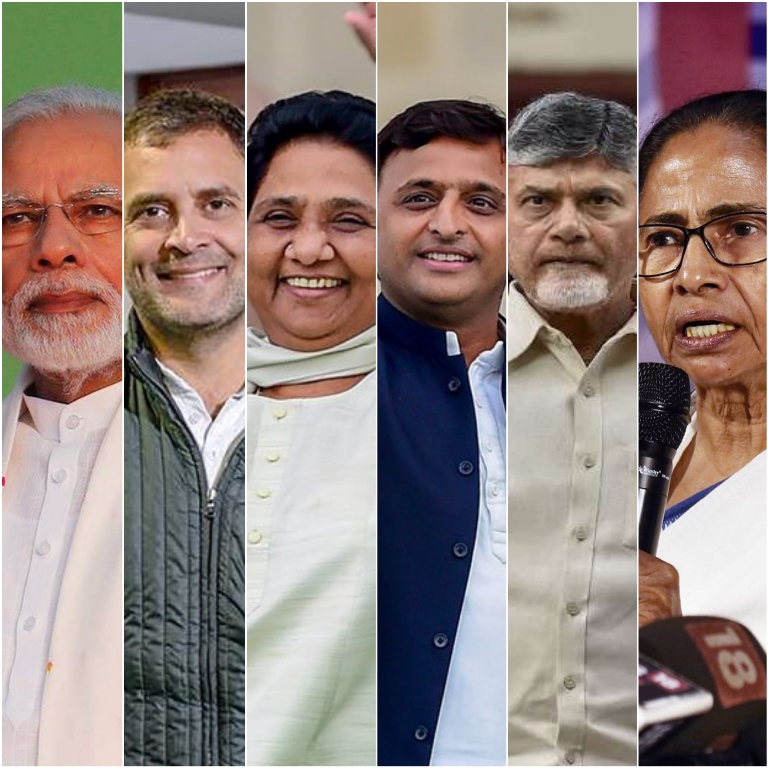 General Elections 2019 collage