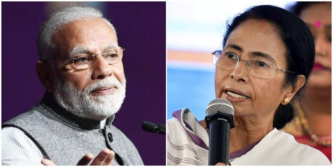 नरेंद्र मोदी और ममता बनर्जी. (फोटो: पीटीआई/पीआईबी)