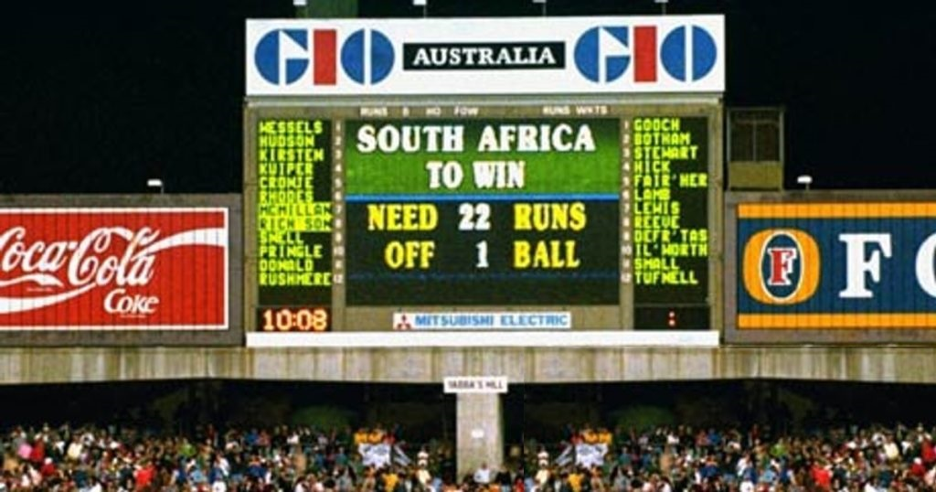 Cricket-World Cup 1992 Photograph by ALLSPORT UK