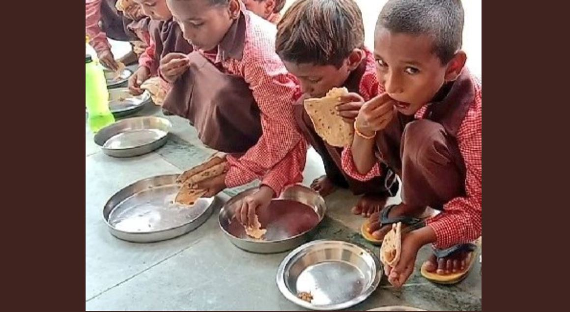 Mirzapur School Mid Day Meal