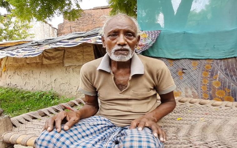 परसुपुर गांव के शिवनाथ (फोटो: रिज़वाना तबस्सुम)