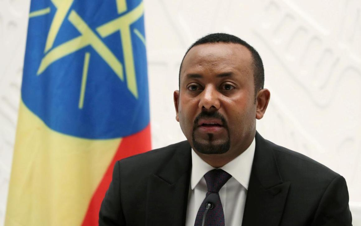 इथियोपिया के प्रधानमंत्री अली अहमद. (फोटो: रॉयटर्स)