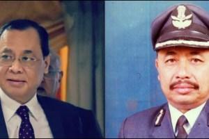 जस्टिस रंजन गोगोई और एयरमार्शल अंजन गोगोई. (फोटो: पीटीआई/bharat-rakshak dot com)