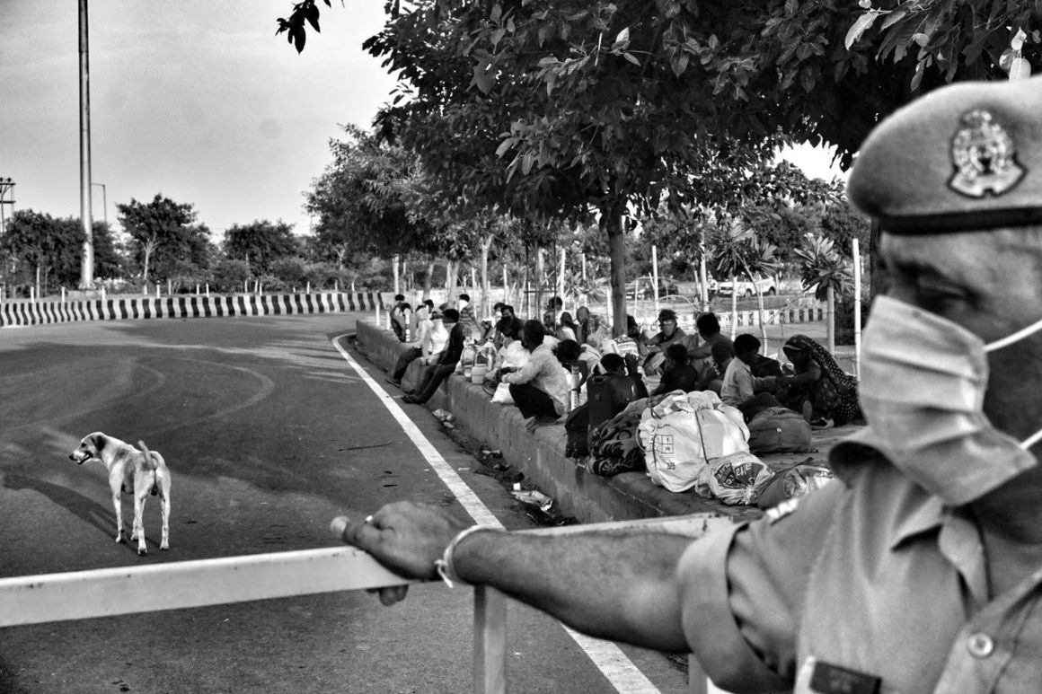 Lockdown Migrant Worker Photoo By Shome Basu (3)