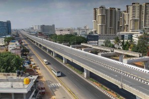 Bengaluru: A view of the deserted Electronic City Flyover in Bengaluru on Sunday May 24, 2020.