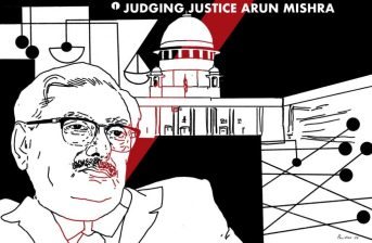 Arun-Mishra Series Illustration By Pariplab The Wire