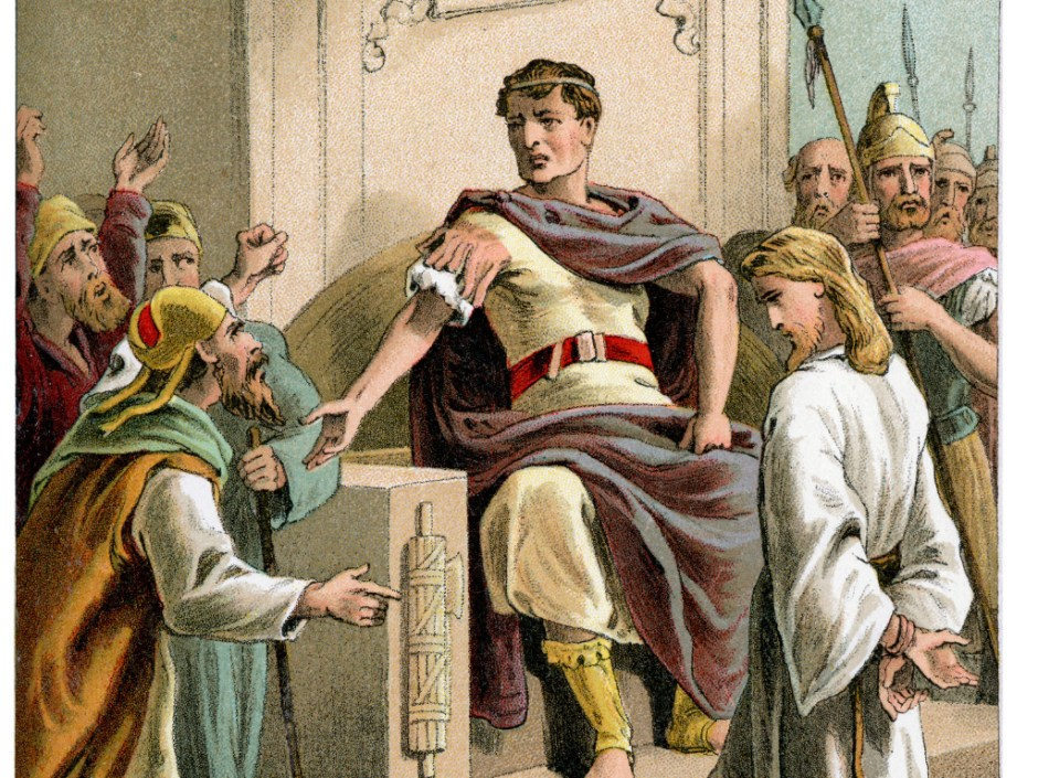 """Ecce Homo!"": Pontius Pilate As The Every Man"