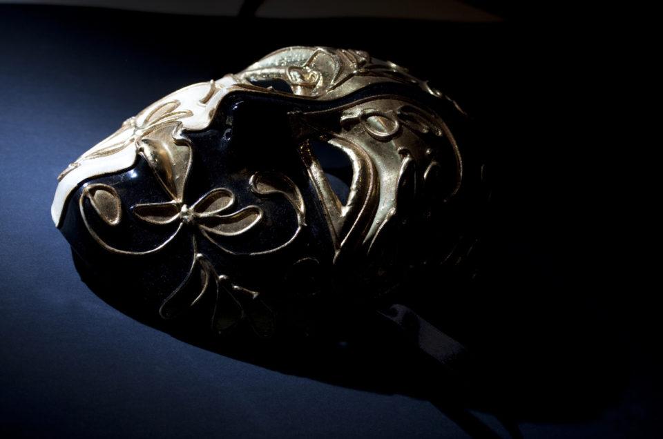 Scary Venetian Mask