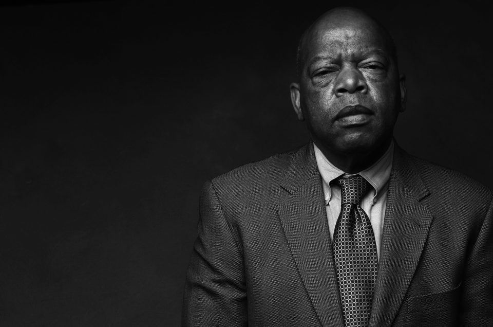 "Rep. John Lewis, the civil rights icon who has practiced ""good trouble"" for more than 60 years, announced recently that he is battling pancreatic cancer. Whether leading from outside the walls of power or from within, Lewis has always listened to his heart and has acted with a youthful brand of nonviolent civil disobedience. Here are moments from his amazing life. (Pouya Dianat / AJC file)"