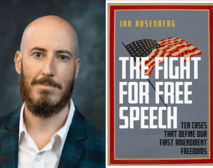 Ian Rosenberg's Fight For Free Speech