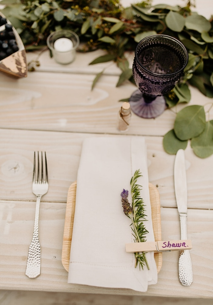 Eco-Friendly Wedding Utensils