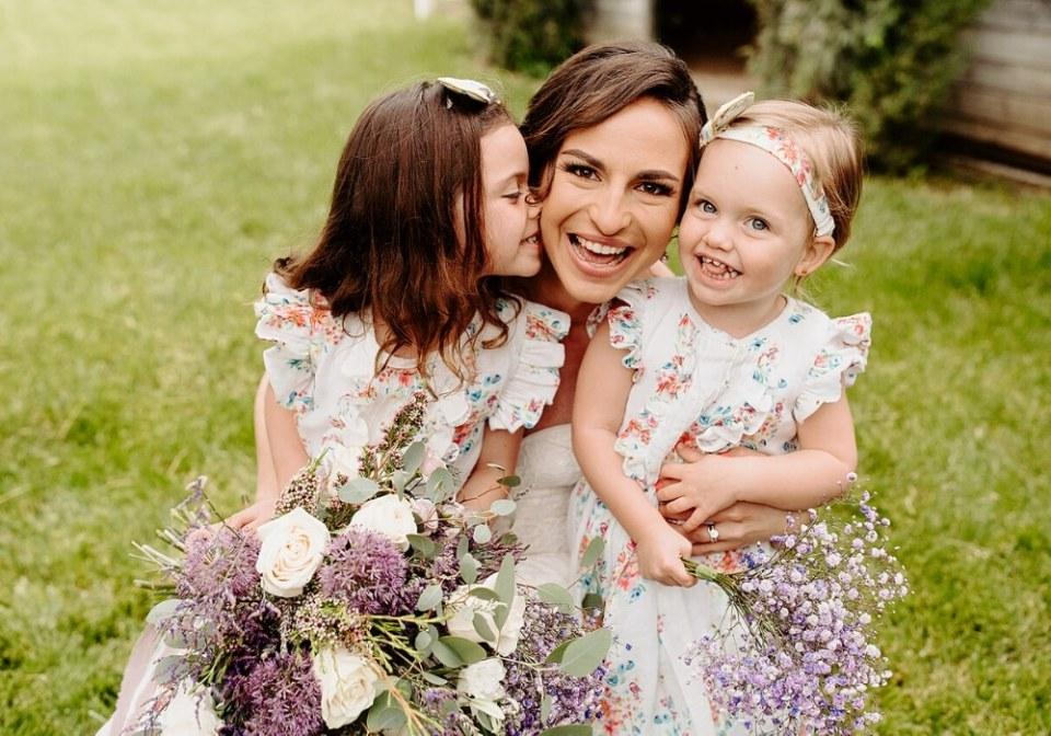 Eco-Friendly Wedding flower girls