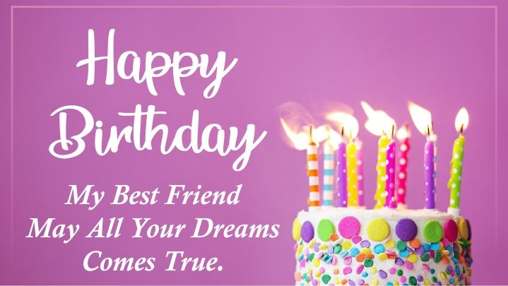 classic-simple-pink-happy-birthday-images-for-my-best-friend-wishing-quotes-sms-images-with-cake-candles-wallpaper-pics-for-facebook-instagram-whatsapp-status-post-free-download
