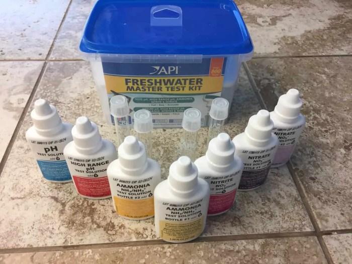 Koi pond water test kit