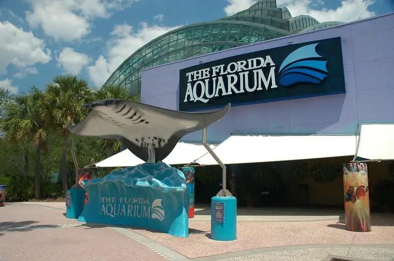 Exterior of The Florida Aquarium
