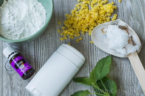 A natural deodorant recipe that actually works