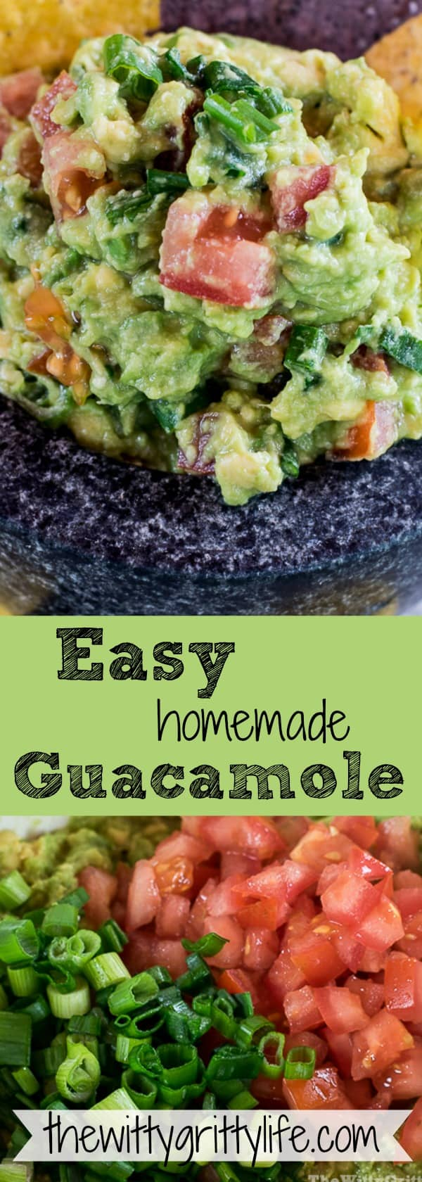 Guacamole is the perfect addition to any summer party. No need to settle for the store bought stuff, when you can create this easy recipe and impress your family and guests with avocado goodness!
