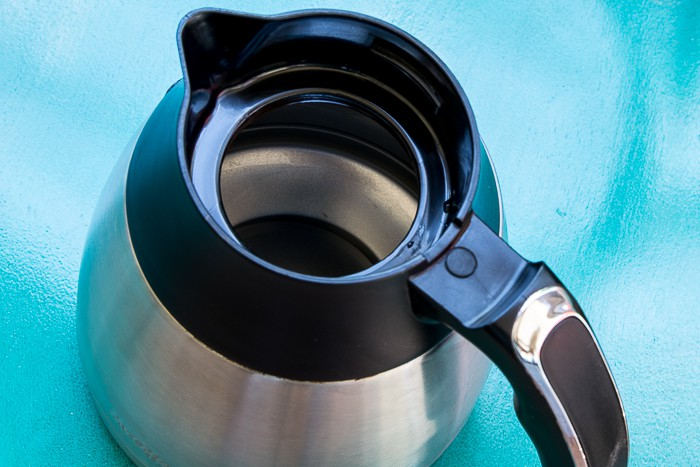 picture of clean coffee pot