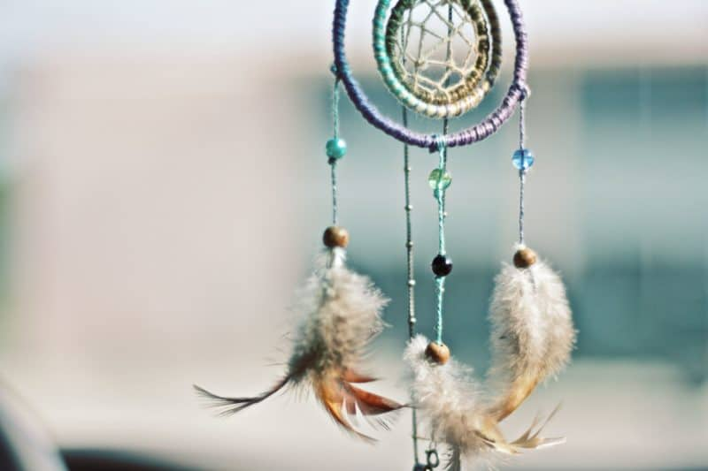 photo of dream catcher