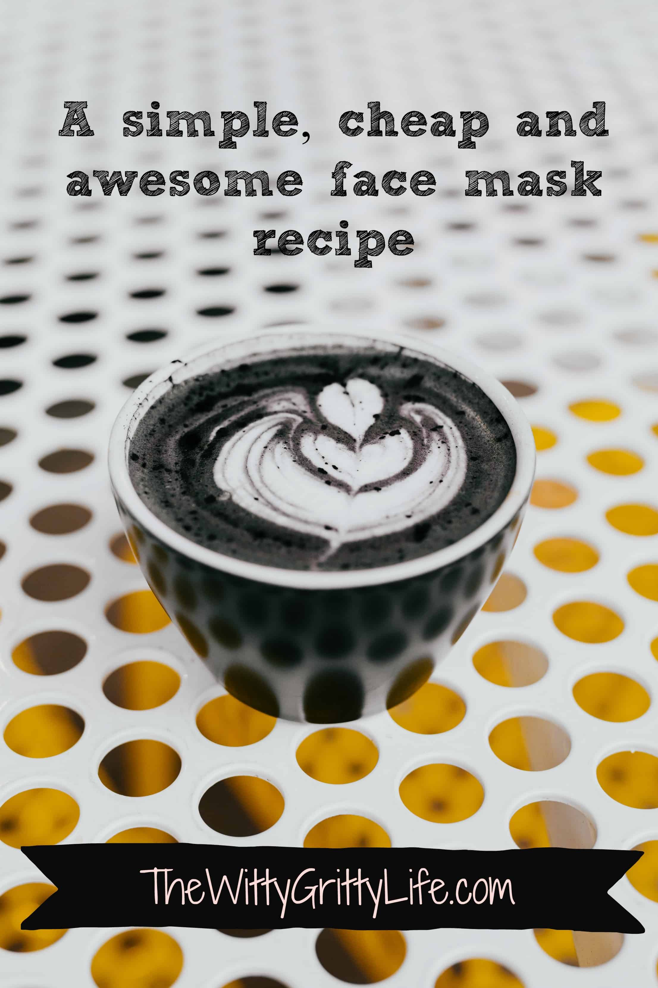 A simple recipe that includes two powerhouse ingredients into one amazing face mask that detoxifies, nourishes and and exfoliates all at the same time! Better still, it costs mere pennies and couldn't be easier to make!