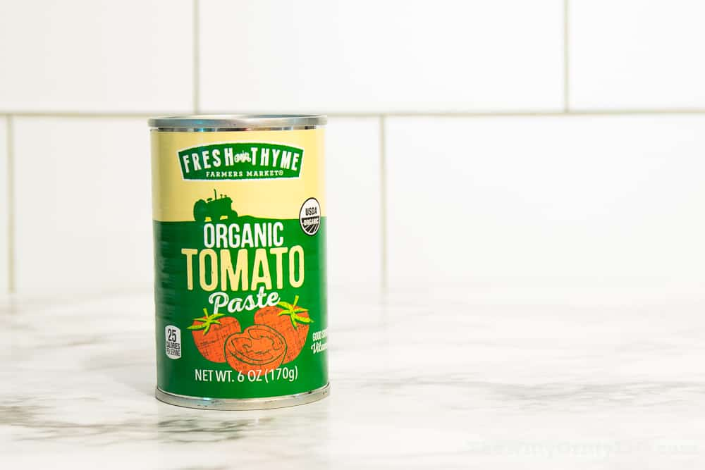 organic canned tomato paste