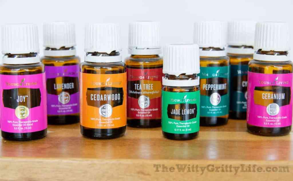 Young living essential oils for homemade soap