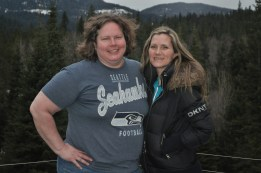 Julie Riise and Debra Thompson- March