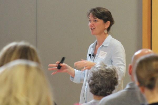 Dr. Jennifer Jencks presents at The Wolf School