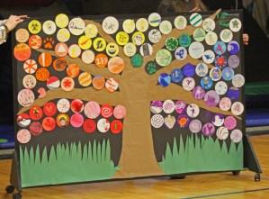 Room 8's collaborative art project
