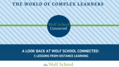 Distance Learning with Wolf School Connected
