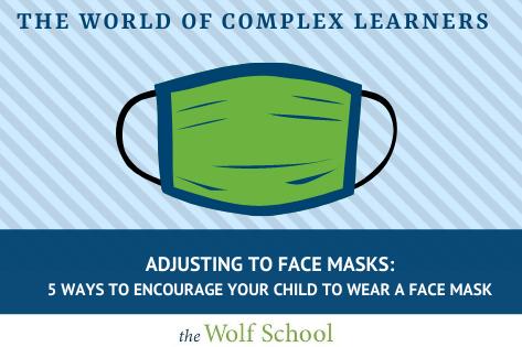 Adjusting to face masks
