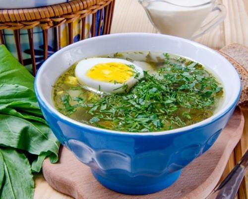 Щи зеленые - рецепт приготовления