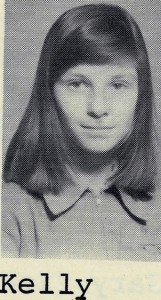 Kelly in sixth grade.