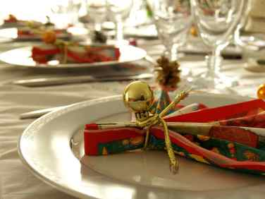 christmas table decorations ideas 2012