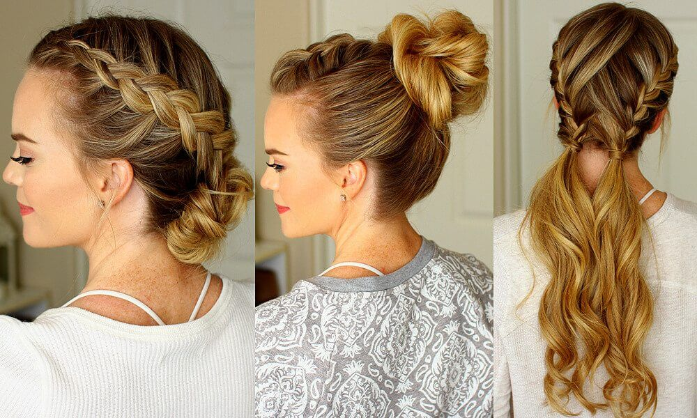 Try These 3 Practical Gym Hairstyles