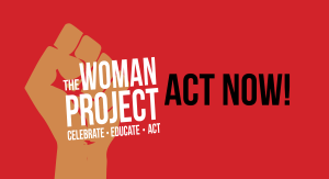 The Woman Project header