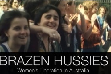 Still from the film Brazen Hussies