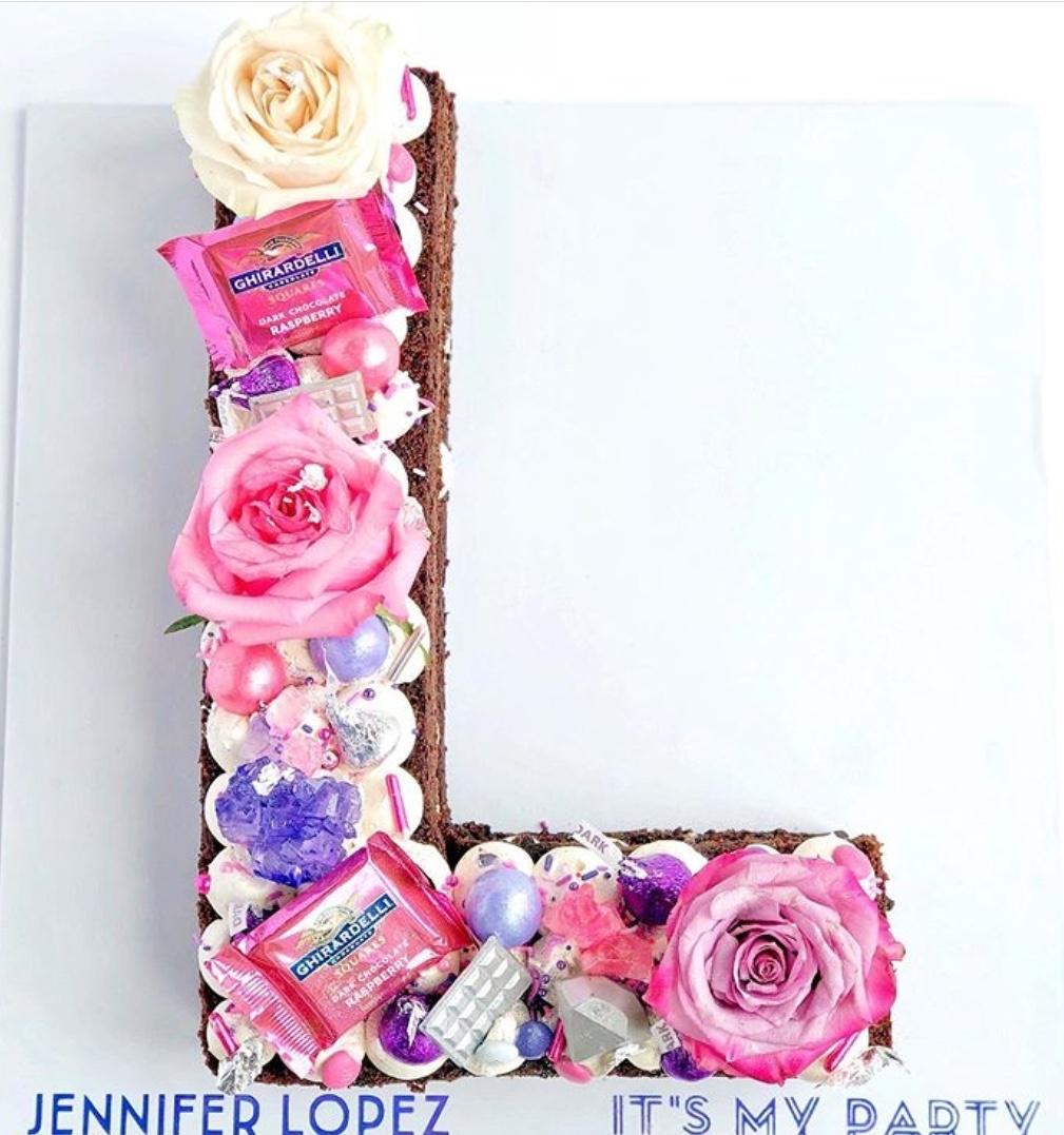 Alphabet cake