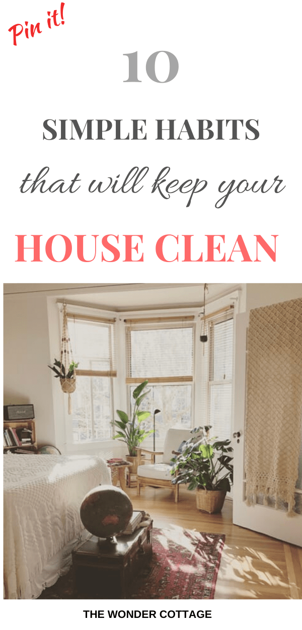 things to do if you want a clean home