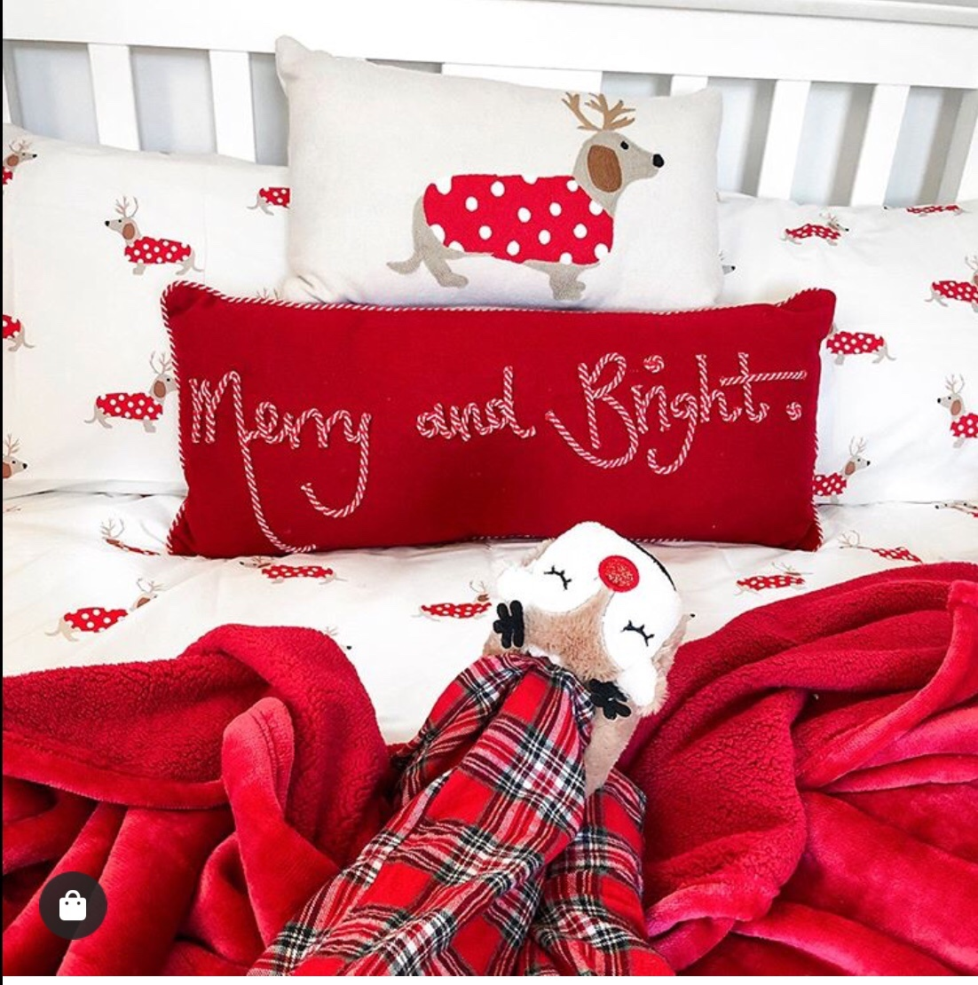 bedroom decor for christmas