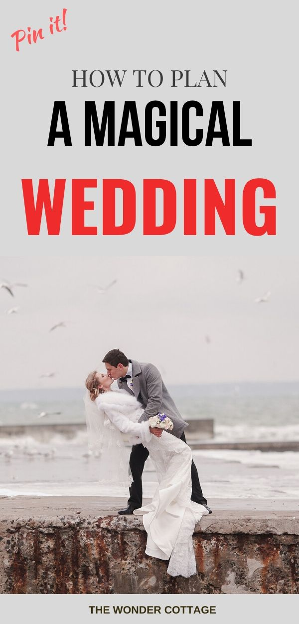 how to plan a magical wedding