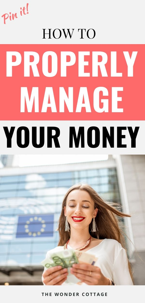 how to manage money wisely