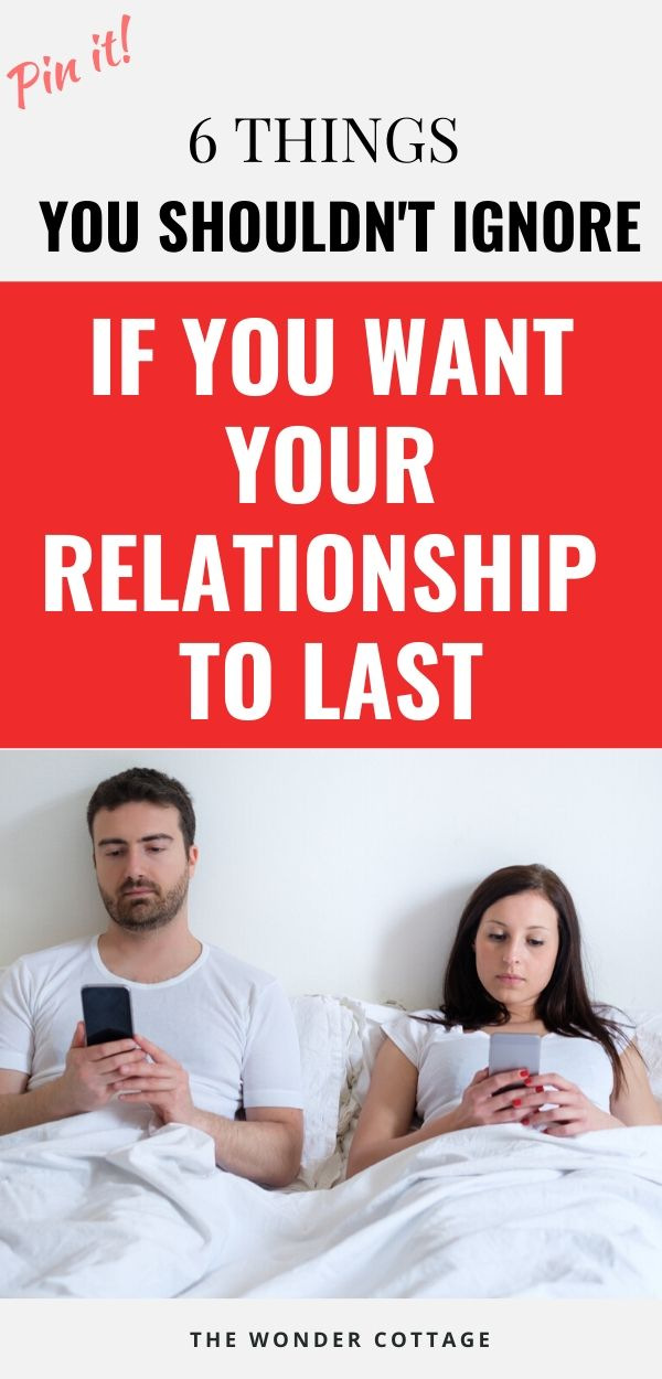 things that may be hurting your relationship