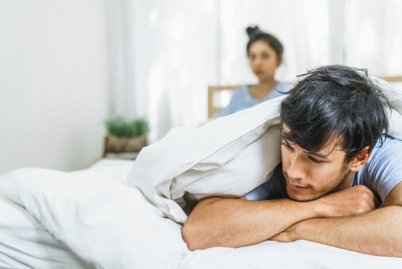 Lovers unhappy in life partner