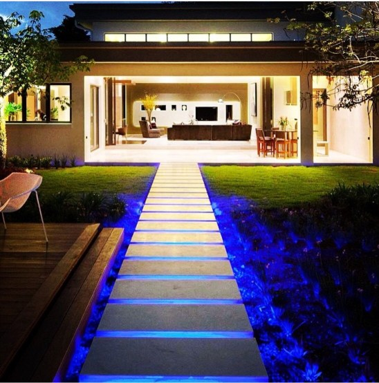 Led strips for outdoor decor