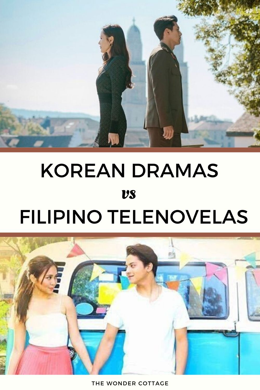 korean dramas vs filipino dramas